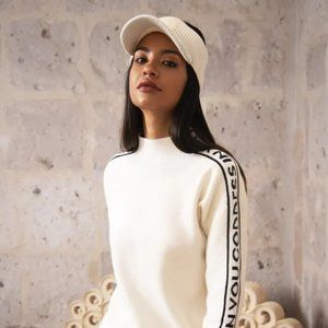 Hera Concept Goddess in You Mock Neck Sweater